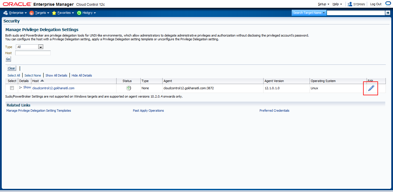 How to Deploy Oracle Management Agent 12c – Gokhan Atil's Blog