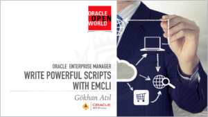 Write powerful scripts with EMCLI
