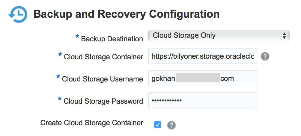 How to Create Storage Containers on the Oracle Cloud – Gokhan Atil's