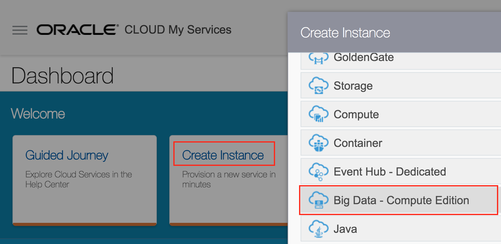 Introduction to Oracle Big Data Cloud Service – Compute Edition